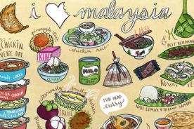 نگاهی به فرهنگ غذایی مالزی